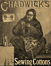 Chadwick?s Sewing Cottons, 19th century. Artist: Unknown