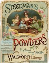Steedman?s Powders, 19th century. Artist: Unknown