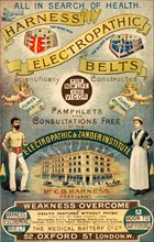 Harness Electropathic Belts, 19th century. Artist: Unknown