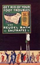 Reudel Bath Saltrates, 1910s. Artist: Unknown