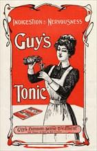 Guy?s Tonic, 19th century. Artist: Unknown