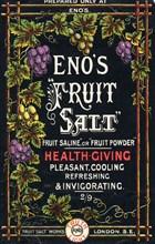 Eno's Fruit Salt, 19th century. Artist: Unknown