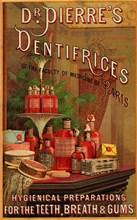 Dr Pierre's Dentifrice, 19th century. Artist: Unknown