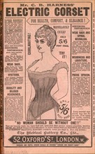 Harness Electric corset, 1890s. Artist: Unknown
