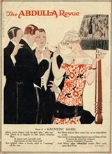 Abdulla Cigarettes, 1920s. Artist: René Vincent