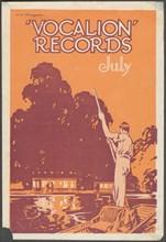 Vocalion Records Bulletin, 1920s. Artist: Wilfred Fryer
