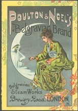 Poulton & Noel's Belgravia Brand, 1880s. Artist: Unknown