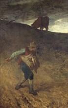 'The sower', 1847-8. Artist: Jean Francois Millet.