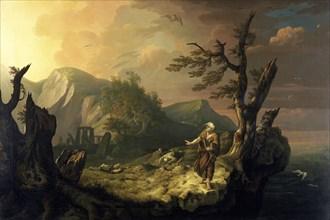 'The Bard', 1774. Artist: Thomas Jones.