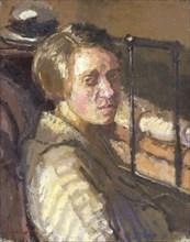 'Camden Town portrait', 1915-16. Artist: Walter Richard Sickert