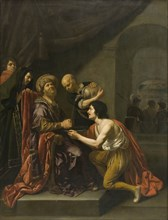 Pilate washing his hands', 1627-1671. Artists: Pontius Pilate, Jesus Christ, Jan van Bijlert.