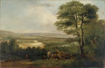 'Landscape: View in Northumberland', 1804-1848. Artist: Thomas Miles Richardson I.