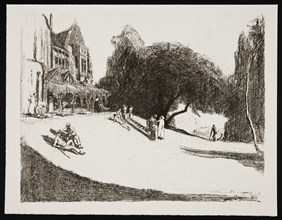 'Convalescence in England', 1917. Artist: Claude Allin Shepperson.