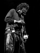 Miles Davis, Royal Festival Hall, London, 1989.  Artist: Brian O'Connor.