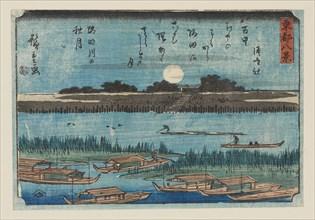 Woodblock print - Small landscape, 1797-1858. Artist: Ando Hiroshige.