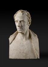 Bust of William Wordsworth (1770-1850), 1820-1821. Artist: Francis Legatt Chantrey.