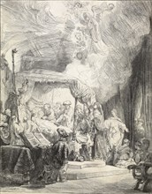The Death of the Virgin, 1639. Artist: Rembrandt Harmensz van Rijn.