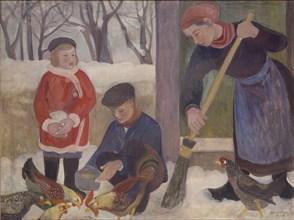 Winter, 1940. Artist: Orovida Camille Pissarro.