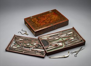 Tool kit depicting the Holy Family, c1830. Artist: Unknown.