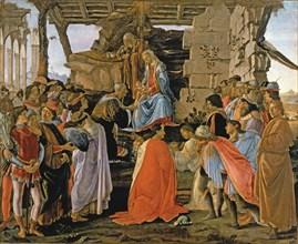 'Adoration of the Magi' by Sandro Botticelli.