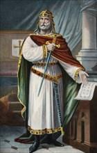 Don Alphonse III the Great (848-Zamora, 910), the last King of Asturias.