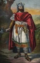 Don Alphonse I (Alonso) the Catholic (693-797), King of Asturias, son-in-law of Don Pelayo, inten?