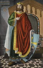 Don Alphonse II (Alonso) the Chaste (760-842), King of Asturias.