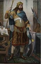 Don Fruela I (722-Cangas de Onis - 768), called the Cruel. King of Asturias, son of Alfonso I, th?