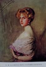Victoria Eugenia of Battenberg (1887-1969), Queen of Spain between 1906 and 1931.