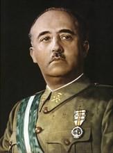 Francisco Franco (1892-1975), Spanish military and political, 1936 photo.