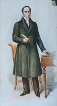Alvaro Florez Estrada (1766-1853), Spanish economist and politician, drawing 1895.
