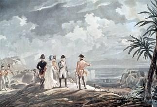 Napoleon in Saint Elena island' Napoleon Bonaparte (1769-1815), French emperor.