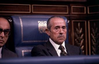 Carlos Arias Navarro (1908-1989), President of the Spanish government, photo 1975.