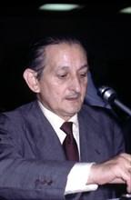 Torcuato Fernández Miranda, Spanish politician, photography, 1976.