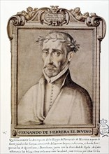 Fernando de Herrera 'El Divino' (1534-1597), Spanish poet. 'Libro de descripción de verdaderos re?