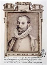 Juan de Oviedo y de la Bandera (1565-1625), Spanish architect and sculptor born in Seville. Portr?