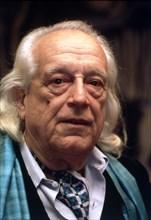 Rafael Alberti (1902-1999), 1980 photo.