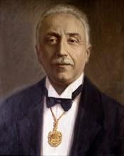 Niceto Alcalá Zamora (1877-1949) President of the Second Spanish Republic.