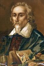 William Harvey (1578-1657), English physician.