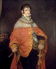 Ferdinand VII, king of Spain, oil by Francisco de Goya.