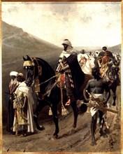 Boabdil, Muhammad XII (1459-1533) last king of Granada.
