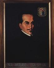 Garcilaso de la Vega 'El Inca' (1539-1616), Peruvian historian.