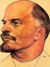 Vladimir Ilich Uliasov called Lenin (1870-1924), Russian revolutionary and statesman.