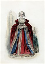 Anne of Cleves (1515-1557), fourth wife of Henry VIII, King of England.