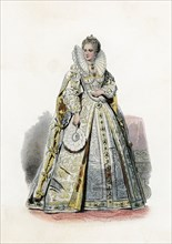 Elizabeth I (1533-1603), Queen of England.