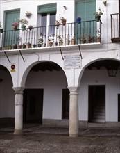 Tombstone recalling the place where the famous Painter Francisco de Zurbarán (1598-1664), Spanish?