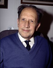Ramon Margalef (1919-2004), Catalan professor, word specialist in Biology and expert in ecology.