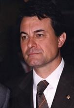 Artur Mas (1956 -), Catalan politician of Convergència i Unió (CIU) and president of the Generali?