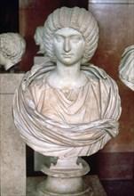 Julia Donna (c.158-217) Syrian-born Roman princess, second wife of Septimius Severus.
