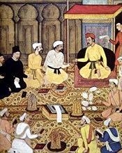 A Jesuit in the court of an Indian prince.